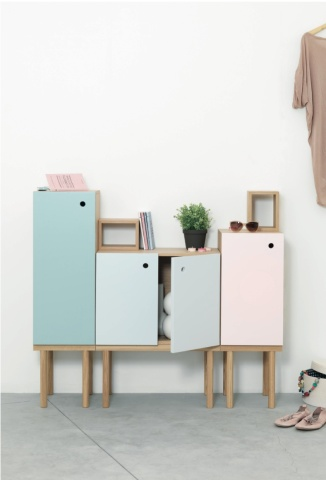 Collage cabinet